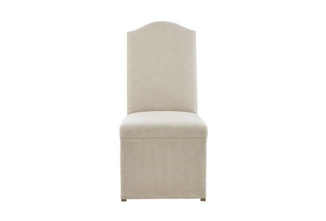 Gloria Skirted Dining Side Chair Set of 2 - 360