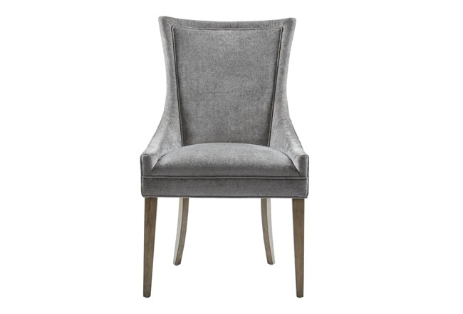 Madison Park Signature Ultra Grey Dining Side Chair Set Of 2 - 360