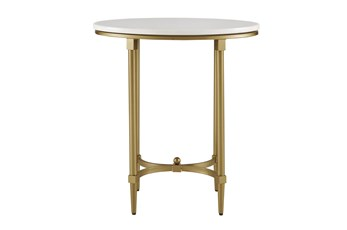 Madison Park Signature Bordeaux End Table