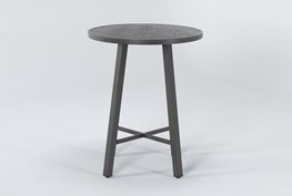 Capri Outdoor Round Bar Table