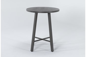 Capri Outdoor Round Bar Table