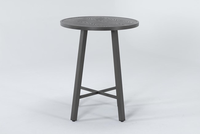 Capri Outdoor Round Bar Table - 360