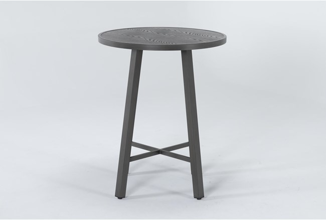Capri Outdoor Round Bar Table - 360