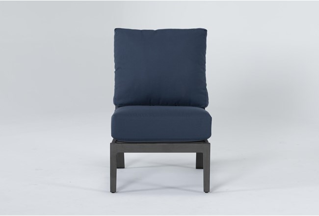 Martinique Outdoor Armless Chair - 360