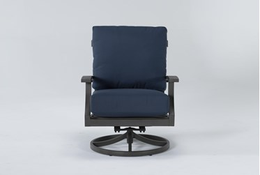 Martinique Outdoor Swivel Lounge Chair