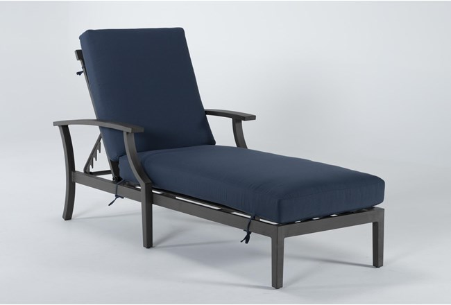 Martinique Outdoor Chaise Lounge - 360