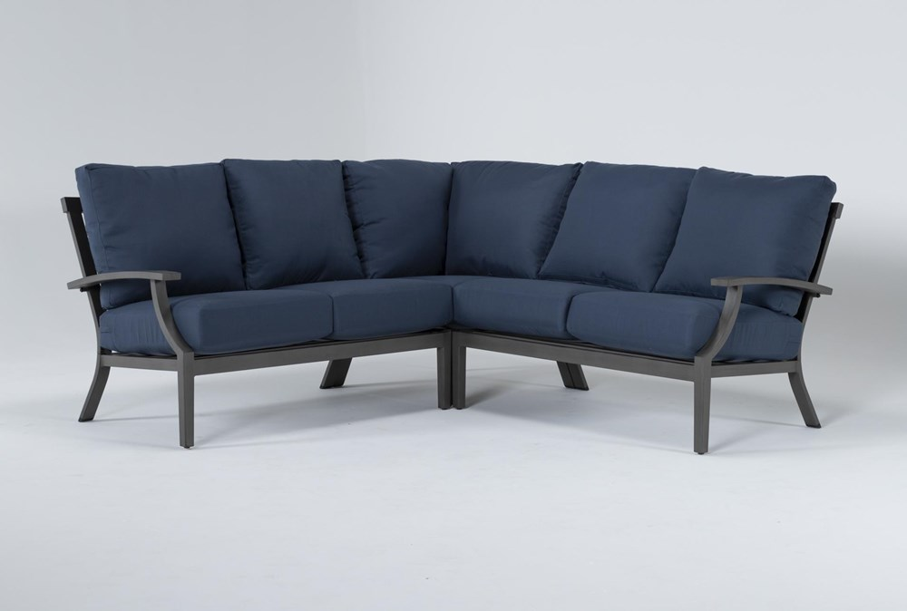 "Martinique Outdoor 3 Piece 85"" Sectional"
