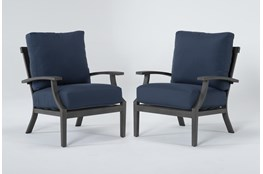 Martinique Outdoor 2 Piece Chat Set