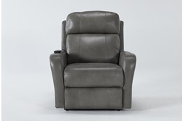 Seville Leather Power Lift Recliner With Massage & Power Headrest