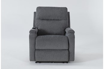 Majorca Sterling Power Recliner With Power Headrest,Lumbar And Massage