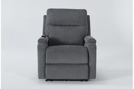 Majorca Sterling Power Recliner With Power Headrest,Lumbar And Massage - Main