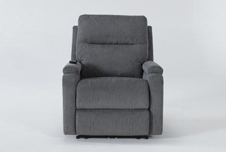 Majorca Sterling Power Recliner With Power Headrest,Lumbar And Massage - Main