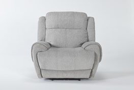 Terence Pebble Power Recliner With Power Headrest & Usb