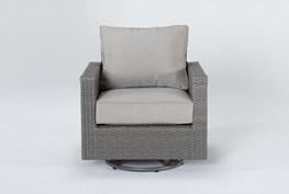 Mojave Outdoor Swivel Chair