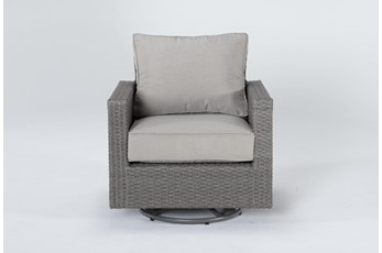 Mojave Outdoor Swivel Chair