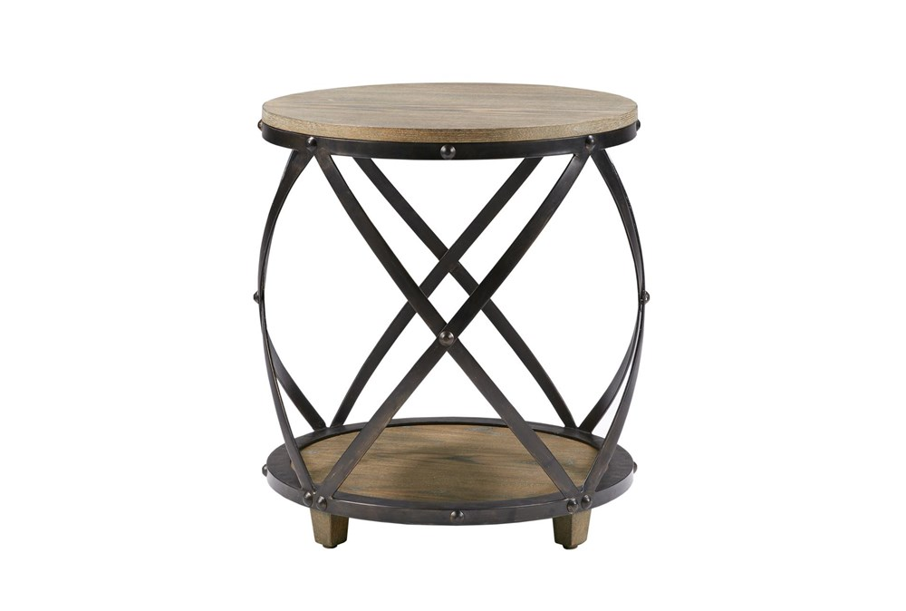 Madison Park Wells Bent Metal Accent Table