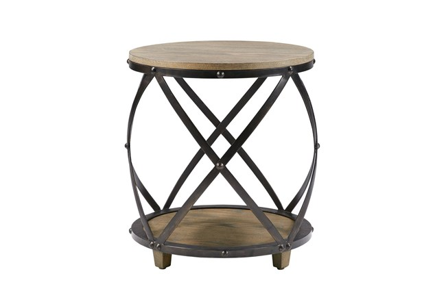 Ryder Round Accent Table - 360