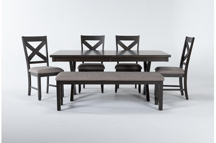 Pollie 6 Piece Extension Dining Set - Main