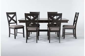 Pollie 7 Piece Extension Dining Set
