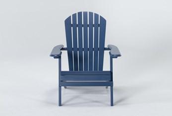 Navy Outdoor Adirondack Chair
