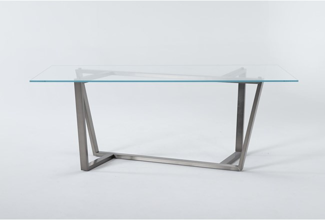 Daphne Glass Dining Table - 360