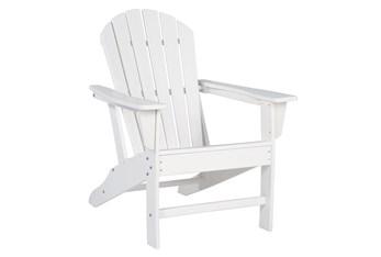 Verbena White Outdoor Adirondak Chair