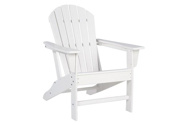 Verbena White Outdoor Adirondak Chair - 360