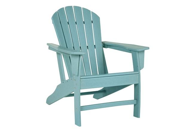 Verbena Teal Outdoor Adirondak Chair - 360