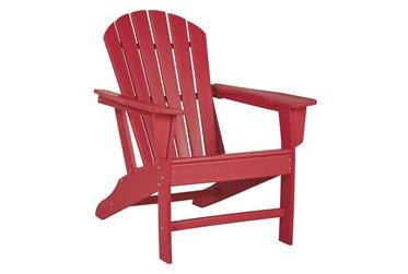 Verbena Red Outdoor Adirondak Chair