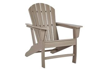 Verbena Taupe Outdoor Adirondak Chair