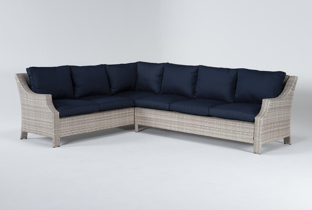 """Chesapeake 112"""" Outdoor Sectional"""