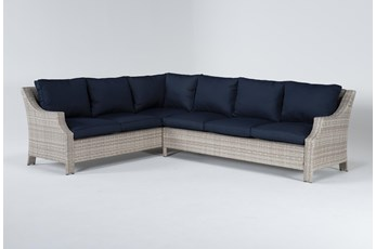 "Chesapeake 112"" Outdoor Sectional"