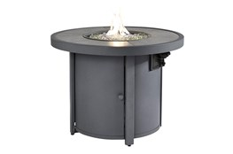 Veranda Charcoal Round Outdoor Firepit