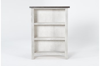 Dixon White 48 Inch Bookcase