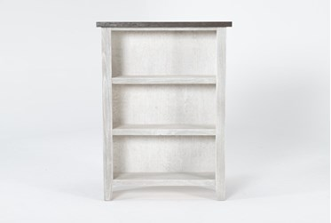 Dixon White 48 Inch Bookcase