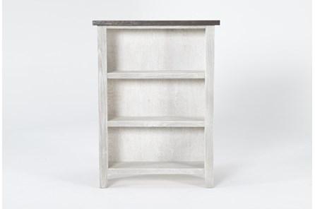 Dixon White 48 Inch Bookcase - Main