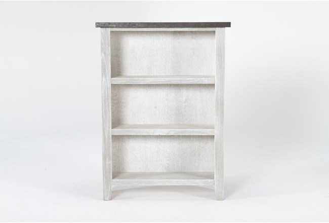 Dixon White 48 Inch Bookcase - 360