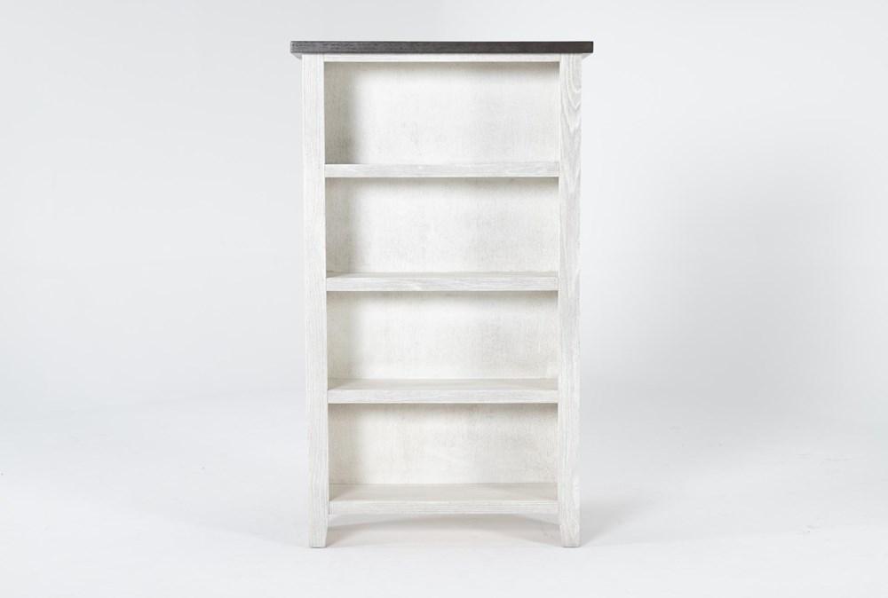 Dixon White 60 Inch Bookcase