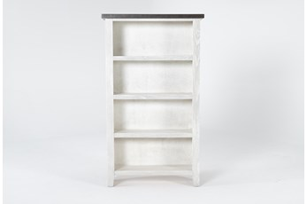 Dixon White 60 Inch Bookcase