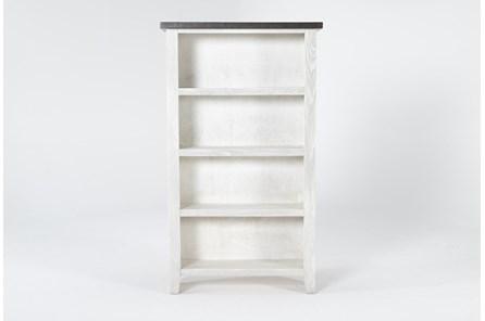 Dixon White 60 Inch Bookcase - Main