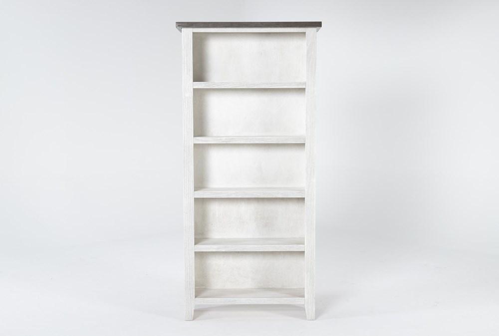 Dixon White 74 Inch Bookcase