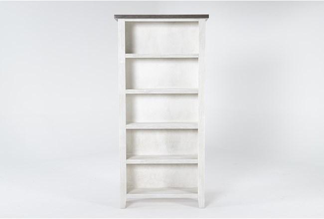 Dixon White 74 Inch Bookcase - 360