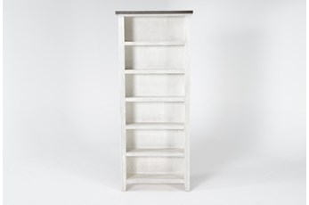 Dixon White 84 Inch Bookcase