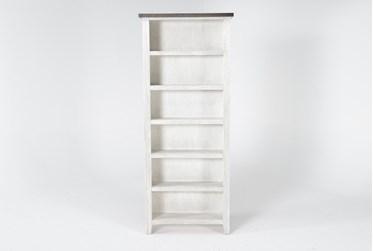 Dixon White 84 Inch Bookcase