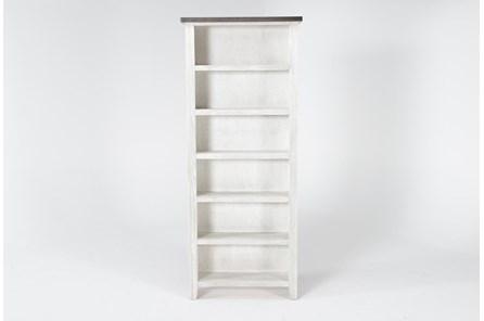 Dixon White 84 Inch Bookcase - Main