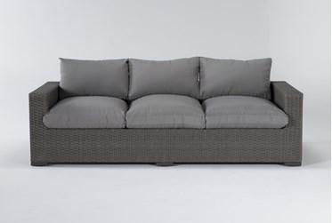 "Sanibel Outdoor Deep Seat 97"" Sofa"