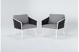 Bondi Outdoor 2 Piece Lounge Chair Set