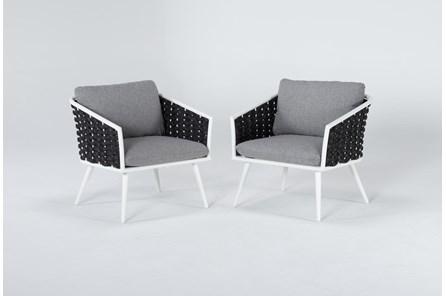 Bondi Outdoor 2 Piece Lounge Chair Set - Main