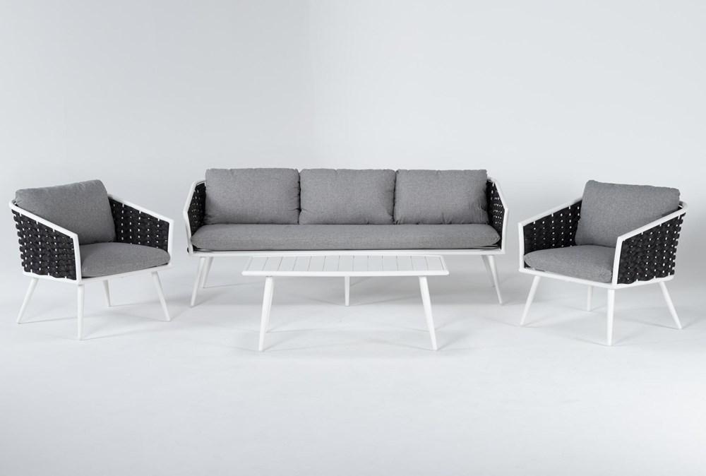 Bondi Outdoor 4 Piece Lounge Set