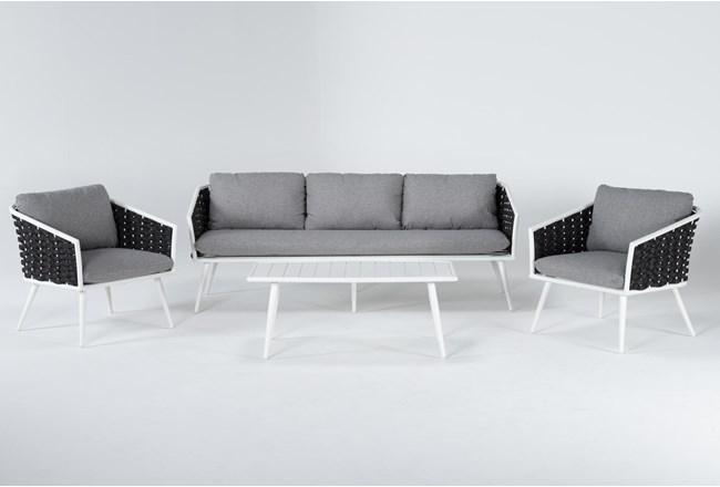 Bondi Outdoor 4 Piece Lounge Set  - 360